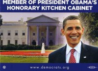 "Terry ""the Warrior"" Reece is an Honorary member of President Barack Obama's Kitchen Cabinet"
